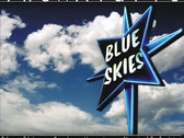 "Ataris Blue Skies 12"" Turntable Slip Mat + Download of album photo"