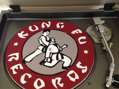 "Kung Fu Records Official 12"" D.J. Turntable Slip Mat main photo"