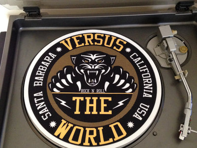 "Versus The World 12"" Turntable Slip Mat main photo"
