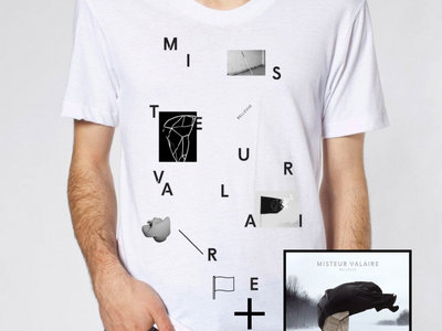 Bellevue White T-Shirt + Bellevue CD main photo