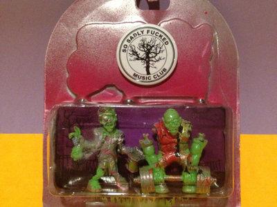 Mini Monsters of the Neighborhood ACTION FIGURE #71 - Kenneth & Darryl main photo