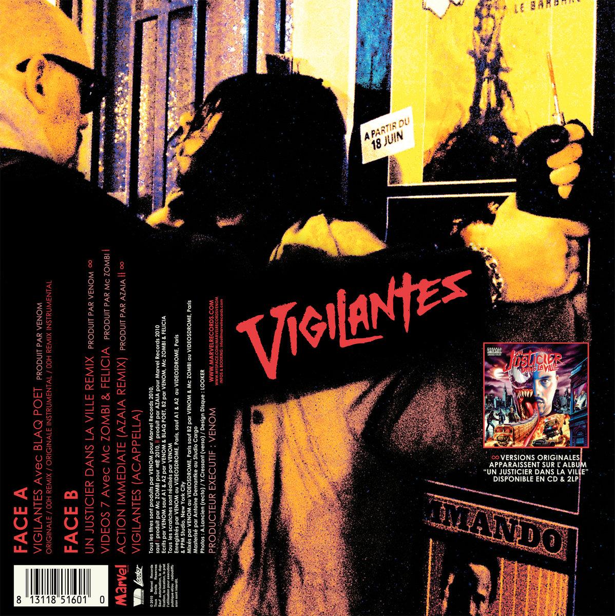 Vigilantes   Marvel Records