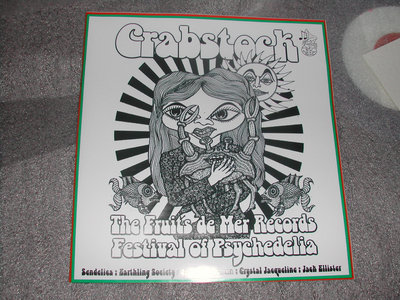CRABSTOCK CD  VERY LIMITED EDITION ON FRUITS DE MER 250 COPIES main photo