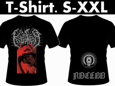 "T-Shirt Black ""Logo - Ira - Nocebo"" main photo"