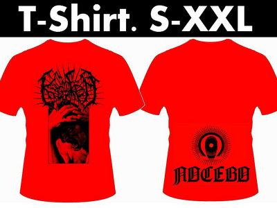 "T-Shirt Red ""Logo - Ira - Nocebo"" main photo"
