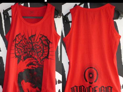 "Tank-Top Red ""Logo - Ira - Nocebo"" main photo"