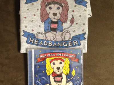 "Jammy Jams ""Little Headbanger"" CD  - Deluxe Bundle #1 main photo"