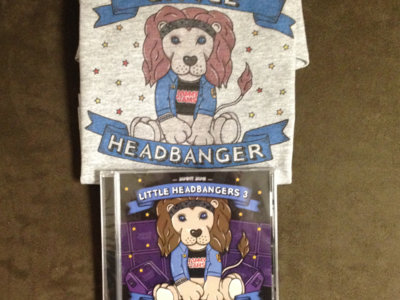 "Jammy Jams ""Little Headbanger"" Onesie - Deluxe Bundle #3 main photo"
