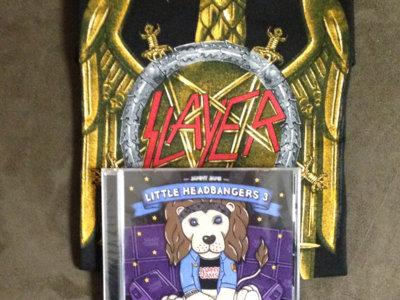 Slayer Toddler T + Little Headbangers 3 CD + Digital Copy - Bundle main photo