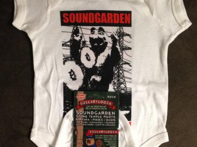 Soundgarden Onesie + Lullabylooza Album Download Card + Digital Copy - Bundle main photo