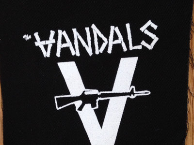 "The Vandals Cloth ""Punker Than You"" Patch main photo"