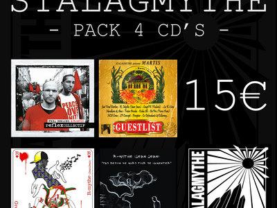 pack 4 CD'S main photo