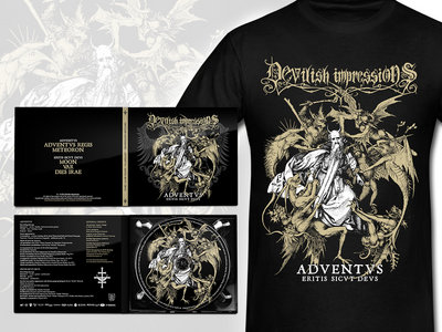Adventvs / Eritis Sicvt Devs Digipack CD + T-Shirt main photo