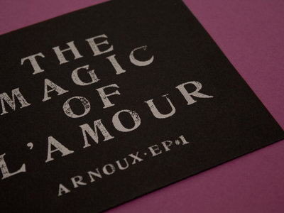Limited edition T-Shirt + The Magic Of L'Amour CD main photo