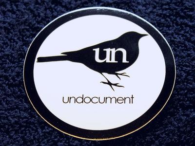 "3"" Circle - Bird Logo Sticker main photo"