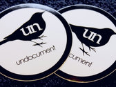 "3"" Circle - Bird Logo Sticker photo"