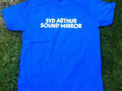 **SALE** Blue Sound Mirror Text T-Shirt main photo