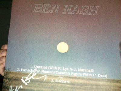 Ben Nash / Magic Lantern Split LP SIGNED BY BEN NASH main photo
