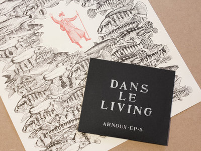 Arnoux - Dans le living, limited CD + Poster main photo