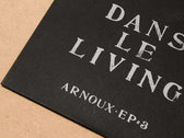 Arnoux - Dans le living, limited CD + Poster photo