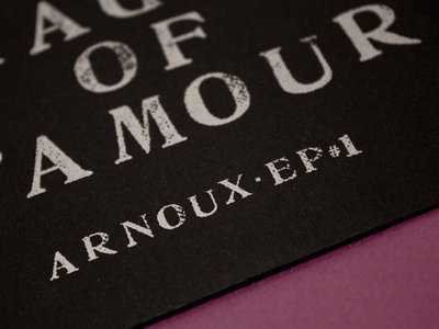 Arnoux - The magic of l'amour, limited CD + T-shirt main photo