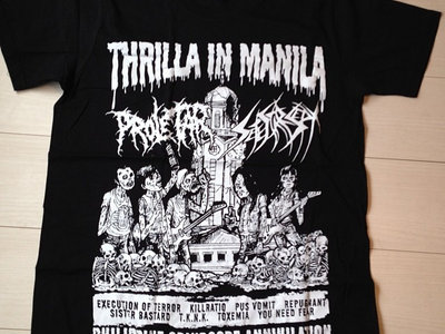 "Philippiness tour 2014 T-Shirt ""Thrilla In Manila"" main photo"