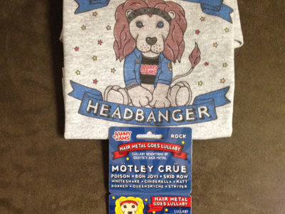 "Jammy Jams ""Little Headbanger"" Download Card - Deluxe Bundle #1 main photo"