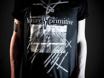 "f/p ""demo art"" shirt black main photo"