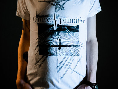 "f/p ""demo art"" shirt white main photo"
