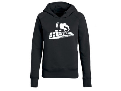 Organic BMS Hoody Girl - black main photo