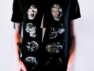 f/p Skulls shirt (black) main photo