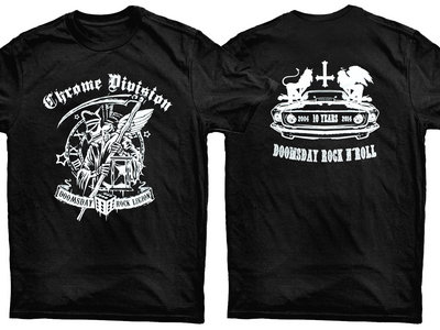 Chrome Division 10 years anniversary T-shirt main photo