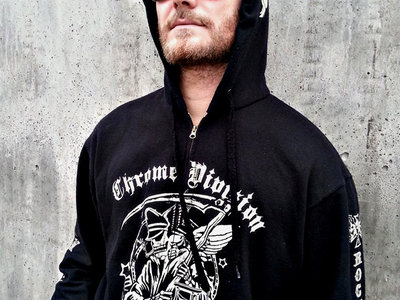 Chrome Division 10 years anniversary Hoodie main photo