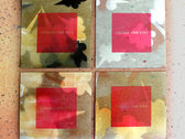 Silk-screened download card photo