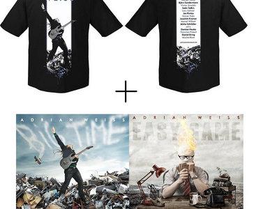 Merch Bundle: Both CDs (Easy Game, Big Time) + T-Shirt main photo