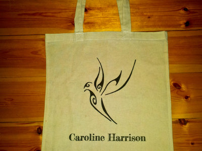 Organic Cotton Tote Bag with Bird logo main photo