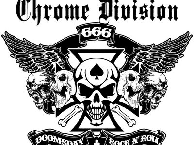 Chrome Division Sticker #2 main photo