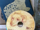 (Limited Run) Hyena Subpoena CD/Book photo