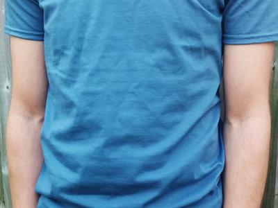 Faraway Neighbours Indigo/Orchid T-Shirt (Men's and Women's) main photo