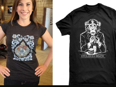Sex at Dawn and Civilized to Death T-shirts main photo