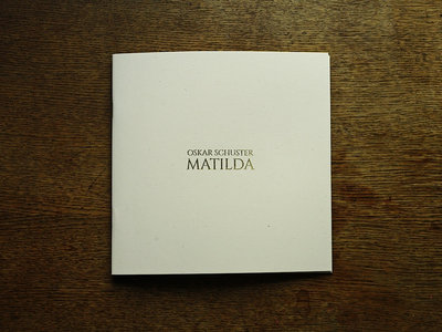 "Sheet Music Book ""Matilda"" main photo"
