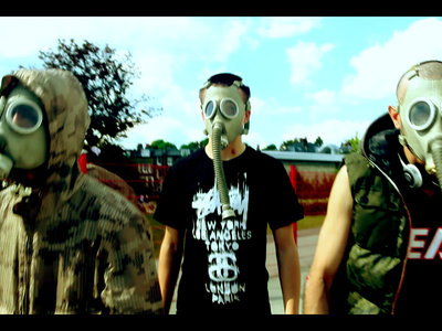 Help us raise funds! Get a signed WW2 Russian Gas Mask (from the Mario music video) main photo