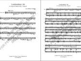 Londonderry Air for Clarinet & E.Piano / Keyboard (Printed Parts) photo
