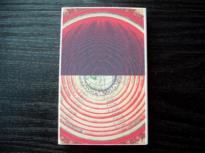 "AMOK073cs - justin scott gray - ""the radius of the innermost circle is One"" CASSETTE main photo"
