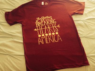 """Breaking Hearts Across America"" T-shirt main photo"