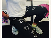 Unique Glow in the dark Poulet Legging (Front Only) photo
