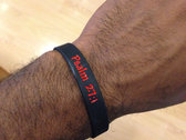 """Bring it on"" wristband (black) photo"