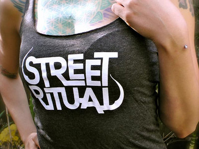 SR Logo Womens Tank - Dark Grey main photo