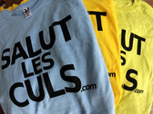 "T-shirt ""Salut les culs"" photo"