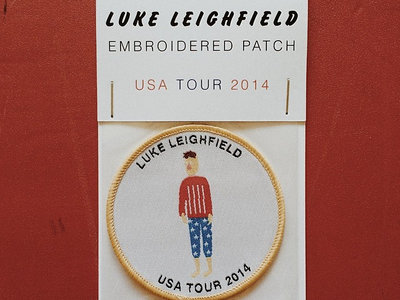 Embroidered USA Tour Patch main photo